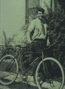Milton Erickson with Bicycle
