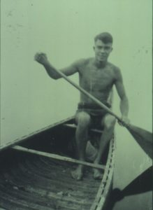 Milton Erickson Canoe Photo